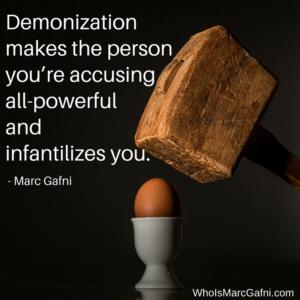 Marc Gafn on Self-Infantilization